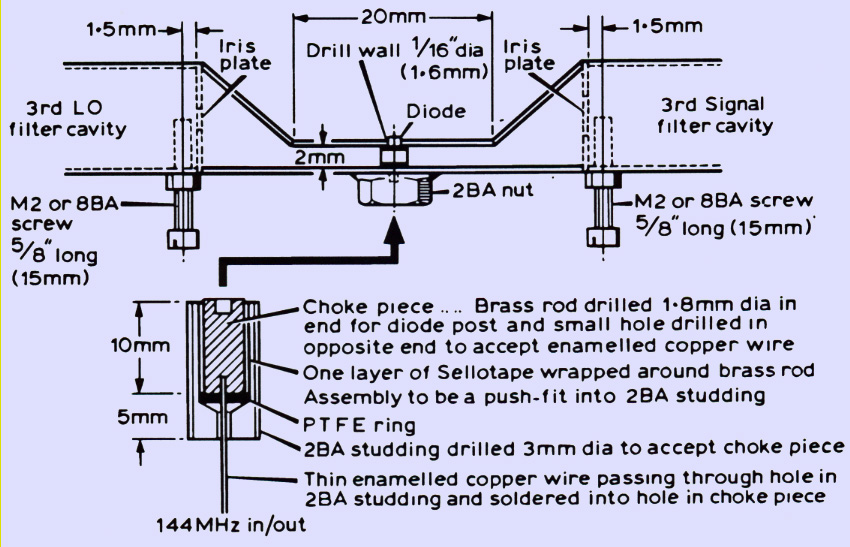 Modifications to the JVL Transverter