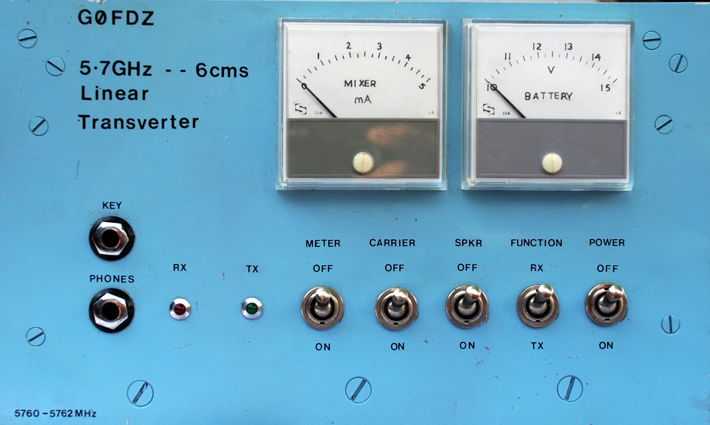 5 7 GHz JVL Transverter @ The Microwave Museum